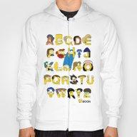 Simpsons Alphabet Hoody