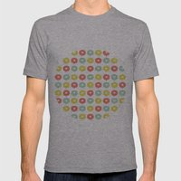 Balloon Hearts Mens Fitted Tee Athletic Grey SMALL