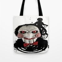 Billy The Puppet: Monste… Tote Bag