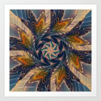 Spinning Energy Art Print
