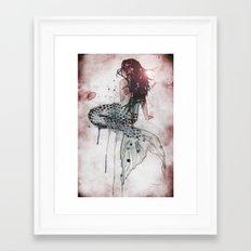 Mermaid II Framed Art Print