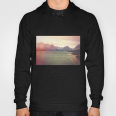 Retro Mountain Lake Hoody