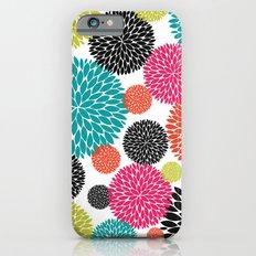 Tropical Flowers Slim Case iPhone 6s