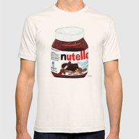 Nutella Mens Fitted Tee Natural SMALL