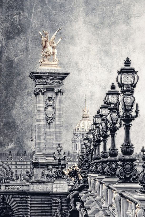 Paris pompous Art Print