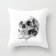 Skull 52 Throw Pillow