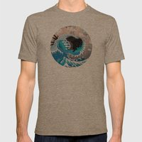 The Unstoppabull Force Mens Fitted Tee Tri-Coffee SMALL