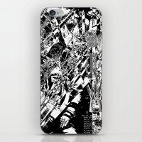 Broken Flight iPhone & iPod Skin