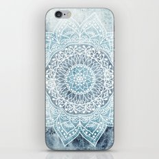 DEEP BLUE MANDALA iPhone & iPod Skin