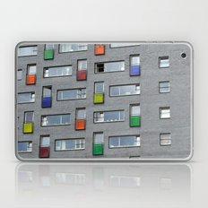 Coloured doors Laptop & iPad Skin