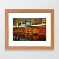 NIGHTTRAIN - RIVERSIDE -… Framed Art Print