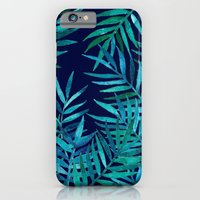 Watercolor Palm Leaves O… iPhone 6 Slim Case