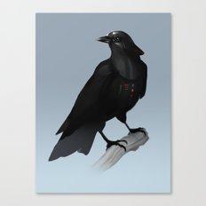 Crow Vader Canvas Print
