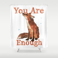 Inspirational Quotes, Fo… Shower Curtain