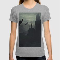 Harry Potter - The Demen… Womens Fitted Tee Athletic Grey SMALL