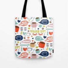 Caffeine Addict Tote Bag