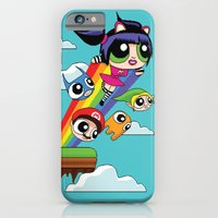 The Power Nyan Girl iPhone 6 Slim Case