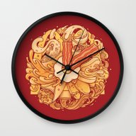 It's Breakfast Time Wall Clock