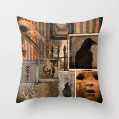 Gothic Menagerie Throw Pillow