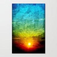 God's Painting Canvas Print