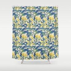 Vanilla flowers Shower Curtain