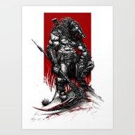 Art Print featuring Survivor Slayer 2015 by Austen Mengler