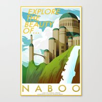 Explore the Beauty of Naboo Canvas Print