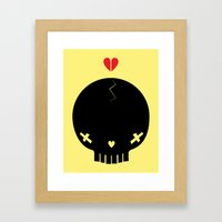 HEART BREAKER - ed. fact Framed Art Print