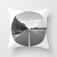 Straight & Narrow. Throw Pillow