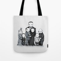 Spooky Plushie Family Tote Bag