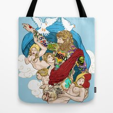 Jesus Piece Tote Bag