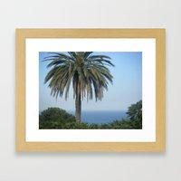 Vacation Paradise Framed Art Print