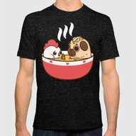 T-shirt featuring Chicken Noodle Puglie So… by Puglie