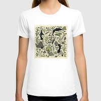 Verdant Graveyard Womens Fitted Tee White SMALL
