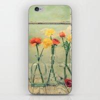 Ranunculus, Bottles And … iPhone & iPod Skin