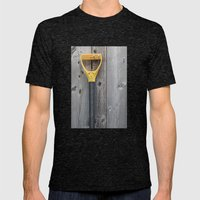 Yellow Handle Mens Fitted Tee Tri-Black SMALL