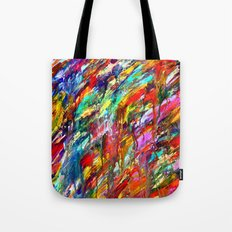 Colorful Waters Tote Bag