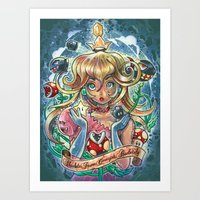 Absolute Power Corrupts … Art Print