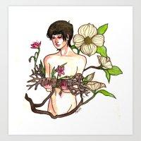 Belladonna Dreams: Deadw… Art Print