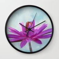 Tropical Beauty Wall Clock