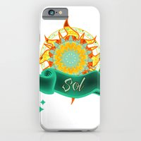 iPhone & iPod Case featuring Sol by Amanda Jonson