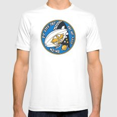 Arup Phoenix Zeppelin Patch Mens Fitted Tee White SMALL