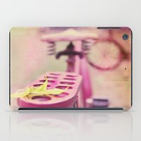 I Rode My Bicycle Past Your Window Last Night iPad Case