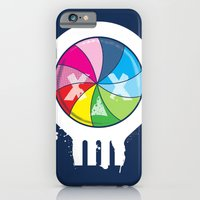 iPhone & iPod Case featuring Pinwheel of Death by Joshua Kemble