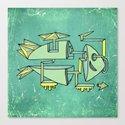am fishin' lost Canvas Print