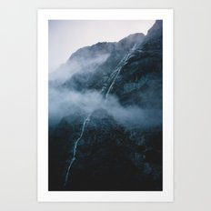 Milford Sound, New Zealand Art Print