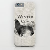 iPhone & iPod Case featuring Game of Thrones - House Stark by MUSENYO