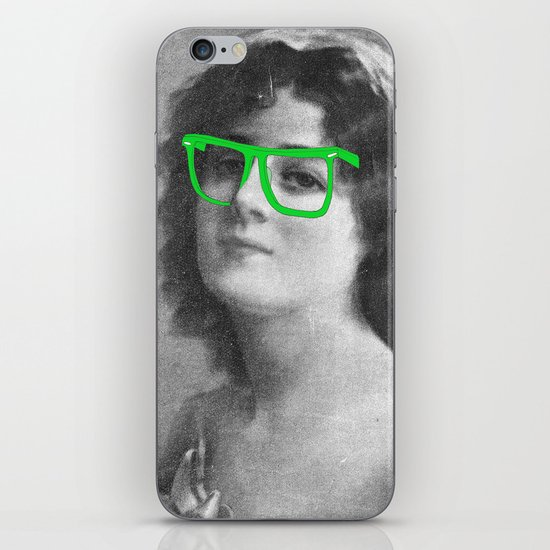 Josephine is a Hipster iPhone & iPod Skin