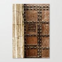 Cathedral Door Canvas Print