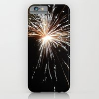 iPhone & iPod Case featuring Fireworks1 by CosmosDesignz